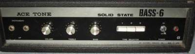 Acetone Bass 6 Solid State Amplifer