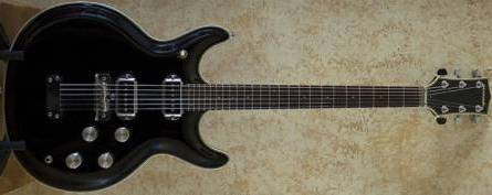 Acoustic AC500 Black Widow guitar