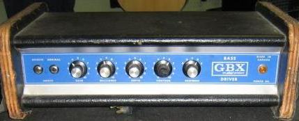 Ahed GBX Bass Driver Amplifier