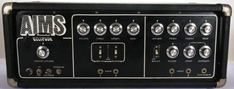 AIMS amplifier control panel