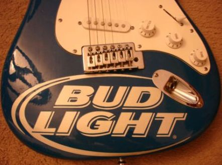 Bud light guitar