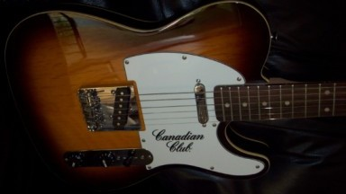Canadian Club telecaster