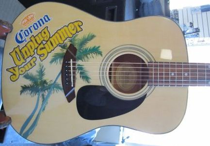 Corona Unplug your summer acoustic guitar