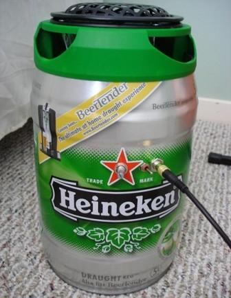 Heinejen keg amplifier