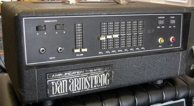 Dan Armstrong amplifier head