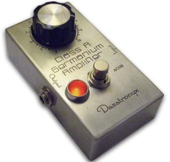 Dazatronyx Class A Germanium Amplifier