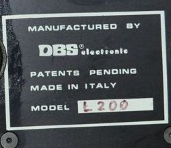 DBS Electronic Made in Italy