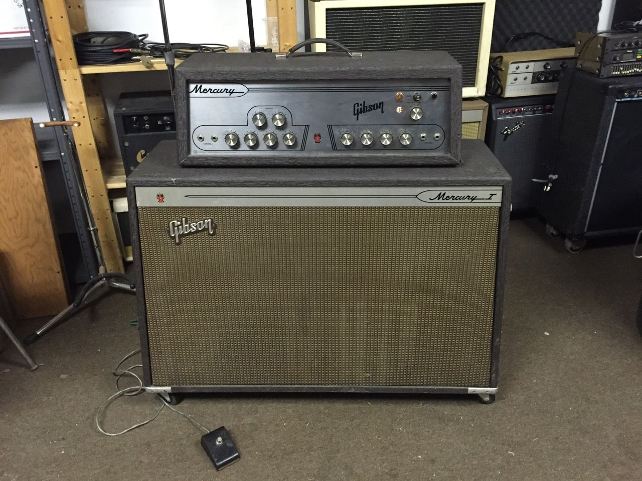 Dating old gibson amps vintage