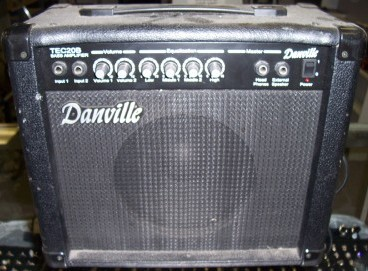 Danville combo guitar amplifier