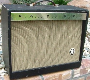 Da Vinci Accordion Company combo guitar amplifier