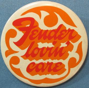 Fender lovin care badge