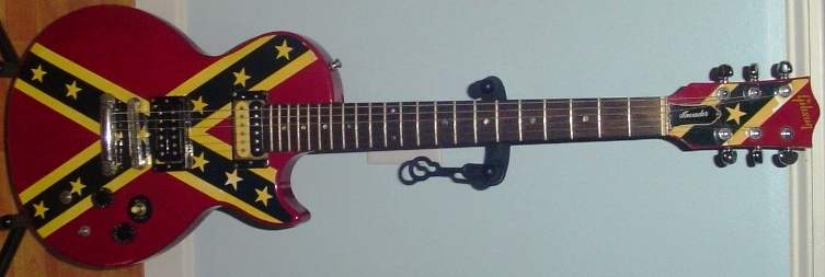 Confederate flag Gibson guitar