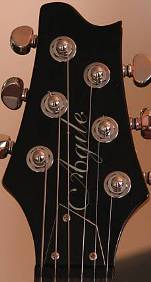 Agile guitar headstock