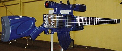 RB Sculpture Assault Rife guitar