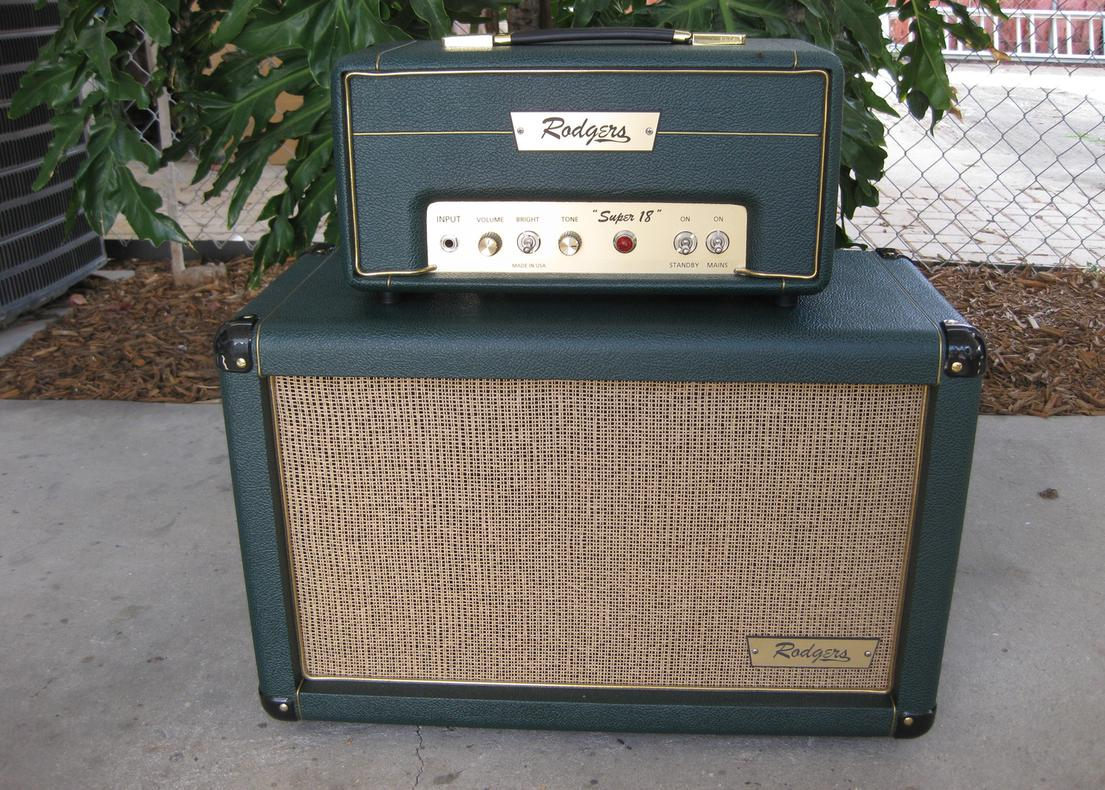 Rodgers Super 18 amp and cab