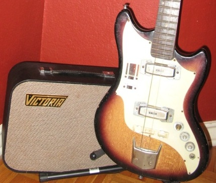 Victoria brand amp and guitar