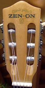 Zen-On guitar headstock
