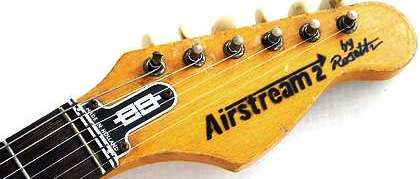 Airstream guitar head