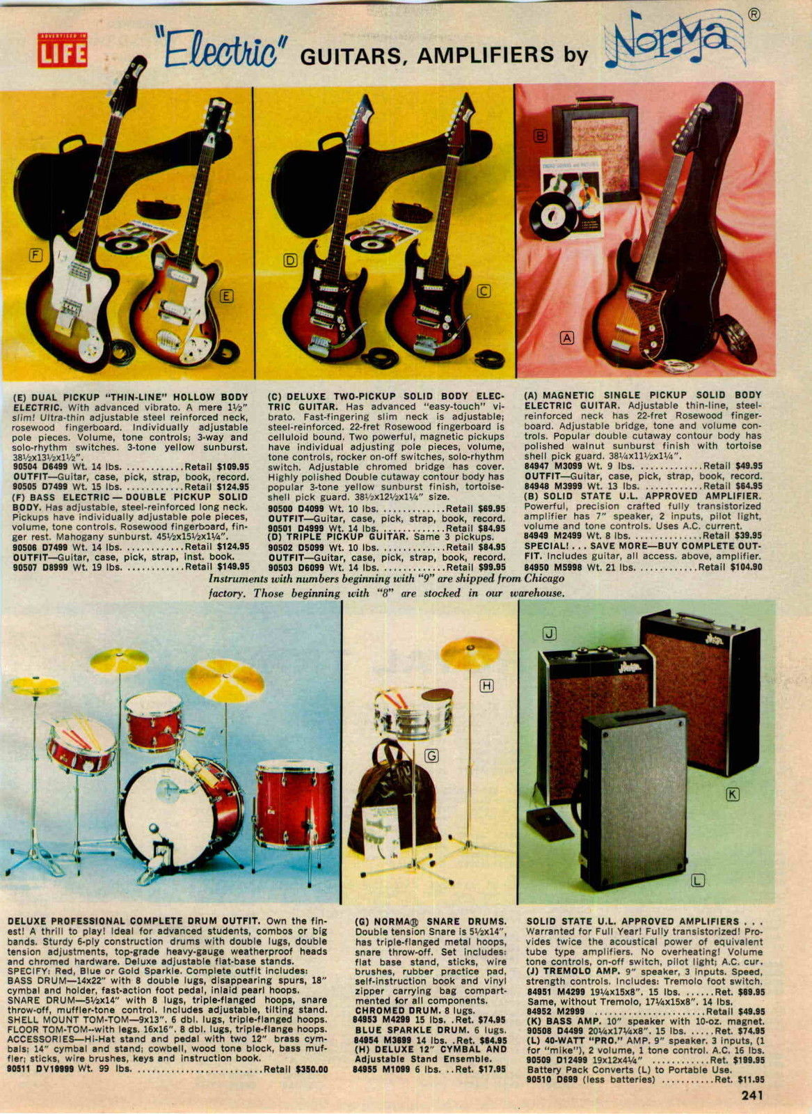 Norma guitars and amps