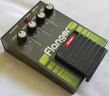 Amdek flanger effects pedal