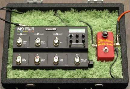 Bed Room Pedal board
