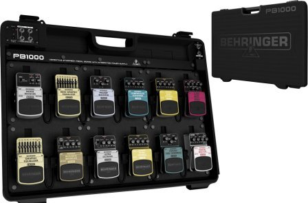 Behringer PB1000 is the larger of 2 pedal boards offered by Behringer
