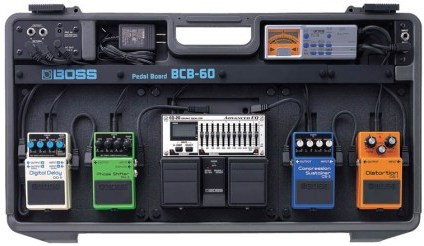 BOSS The BCB-60 Pedal Board
