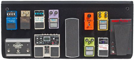 Coast pedal boards