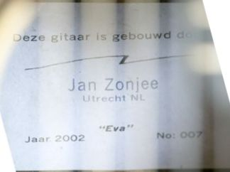 Jan Zonjee guitar label
