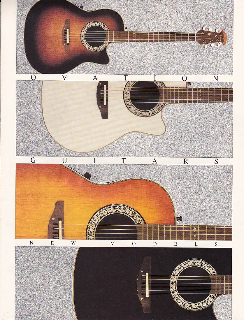 Ovation Guitars Emerged As A Round Back Instrument In 1966